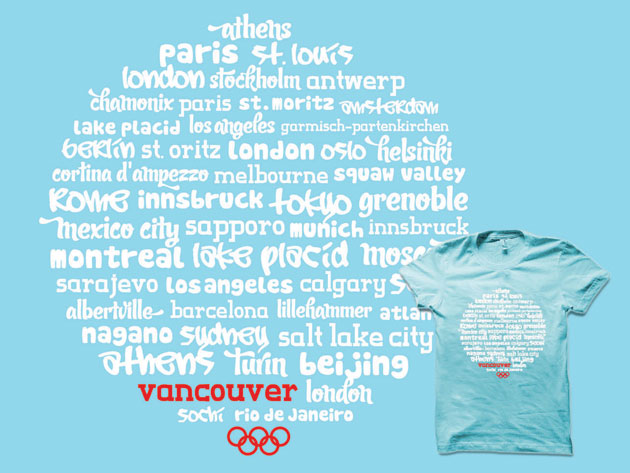 header image for Olympic World T-shirt – Only 24 Hours!