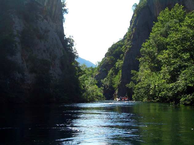 header image for Rafting on Croatia's Cetina River