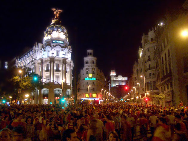 header image for Experiencing the World Cup in Madrid