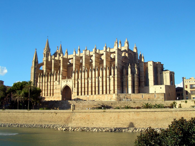 header image for The Gothic Cathedral and Warm Sandy Beach on Spain's Island of Mallorca