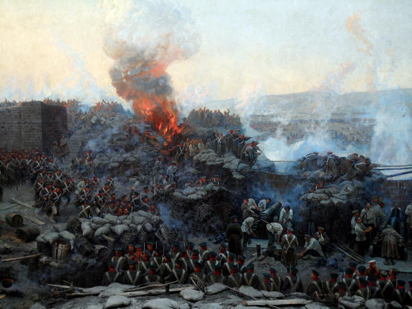 crimean war Discussions of the crimean war (1853–56) often emphasize its leaders'  in the  last stages of the war, locomotives were brought from britain.